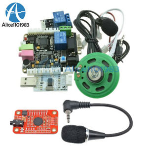 Sp Voice Recognition V3 Kit Module Board Rs232 Ttl232 For Arduino Raspberry