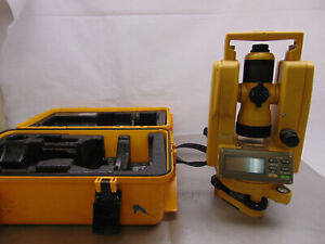 Topcon Dt 104 Digital Theodolite Level Survey Tool Free Ship No Reserve 28