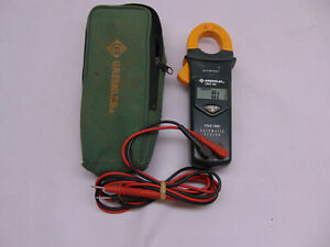 Greenlee Cmt 90 Clamp on Meter True Rms Automatic Tester Free Shipping 45