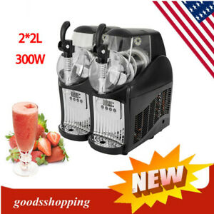 Slush Frozen Drink Machine 2 2l Tank Slush Maker Drink Frozen Drink Juice Slushy