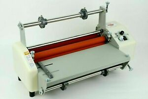 17 3 Inch Thermal Roll Laminator Machine Electric Laminating Cold hot Equipment