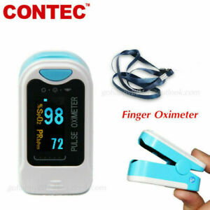 Contec Cms50na Oled Pulse Oximeter Blood Oxygen Monitor Spo2 Same Day Fast Ship