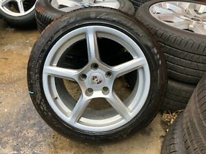 13 19 Porsche Cayman Boxster Factory 18inch Wheels Tires 5x130 Staggered