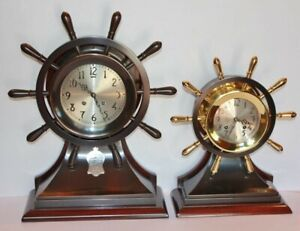 Chelsea Mariner Ship Wheel Bell Clock 6 Dial With Masonic Presentation Ca 1928