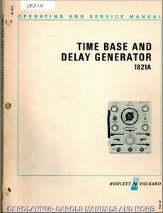 Hp Manual 1821a Time Base And Delay Generator