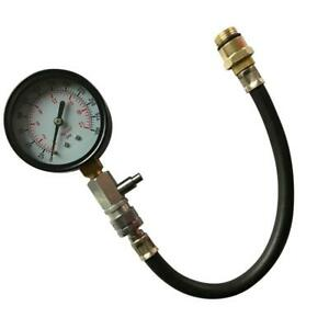 Engine Cylinder Compression Gauge Kit Tester Motorcycle Auto Car Repair Tool