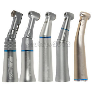 Dental led Fiber Optic Contra Angle Slow Low Speed Handpiece Fit Nsk Kavo