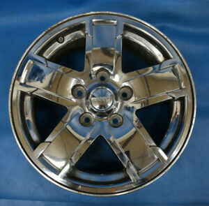 Jeep Grand Cherokee 2005 2007 Used Oem Wheel 17x7 5 Factory 17 Rim Tpms Chrome