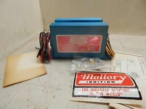 Mallory Multi Spark Capacitive Discharge Ignition Nos