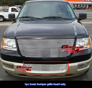 Fits Ford Expedition Bumper Phat Billet Grille Insert 03 06