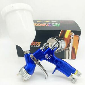 Devilbiss Gti Pro Lite Blue Car Paint Tool Pistol Spray Gun Te20 1 3mm