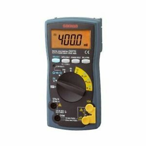 Sanwa Digital Multimeter Cd772 Free Shipping With Tracking Number New From Japan