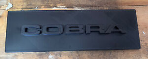 One Din Radio Delete Plate Cobra Inspired Abs Ford