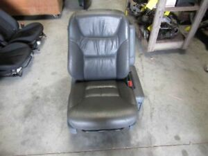 2007 Honda Odyssey Right Passenger Front Seat Gray Leather Track Frame Tray Oem