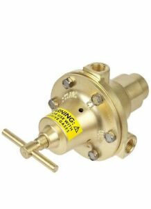 Victor Meco P Series High Pressure Specialty Gas Single Stage Regulator 1 4