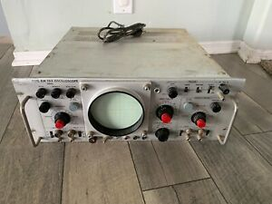 Tektronix Inc Oscilloscope Type Rm 503 Turns On Vintage Tech Aerial 165 Early