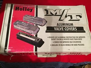 M t Big Block Chevy Polished Valve Covers new