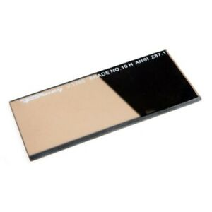 Forney 57061 Lens Replacement Gold Welding Filter 2 inch by 4 1 4 inch Shade