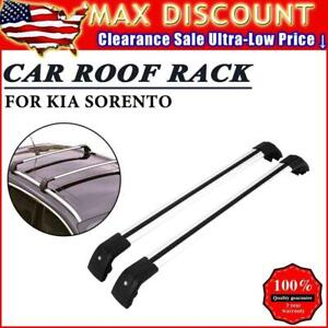 Top Roof Rack For Kia Sorento 15 17 Baggage Luggage Carrier Cross Bar Crossbar