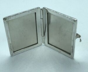 Vintage Tiffany Co Sterling Silver 925 Travel Pocket Picture Photo Frame