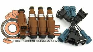 Toyota Starlet Turbo 1 3l Modern Direct Replacement 4 Hole Spray Fuel Injectors