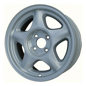 91 92 93 Ford Mustang Mustang Gt Cobra 16x7 Argent 5 Spoke Factory Wheel 3018