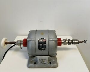 Handler Redwing 26a Dental Polishing Lathe 1 4 Hp Dual Chuck Attachments