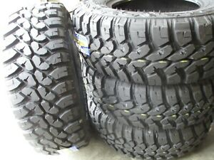 4 New Lt 265 70r17 Inch Forceum Plus Mud Tires 2657017 M t Mt 70 17 70r R17 E