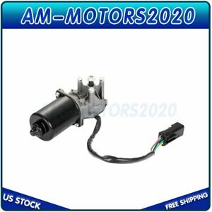 Front Windshield Wiper Motor Kit Replacement For Jeep Tj Wrangler