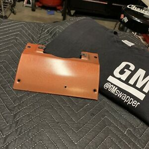 73 87 Chevy Gmc Truck Lower Dash Steering Column Trim Cover Metal Panel Russet