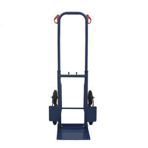 440 Lbs Heavy Duty Stair Climbing Moving Cart Dolly Hand Truck Warehouse Cart