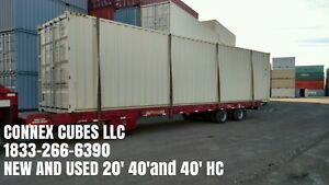 40ft High Cube New One Trip Double Door Shipping Container Chicago