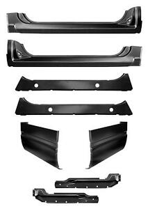 Rocker Panel Extended Cab Corner W Inners Kit For 88 99 Chevy Gmc Pickup