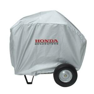 Honda Universal Large Generator Cover Storage Outdoor Water Resistant Silver New
