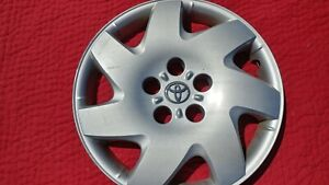 Make Offer 16 2002 03 04 05 06 Toyota Camry Spoke Hubcap Wheel Cover 42621aa100