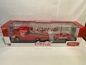 M2 Hauler Coca-Cola 1970 FORD C-950 And 1966 FORD MUSTANG GASSER 6000 Made