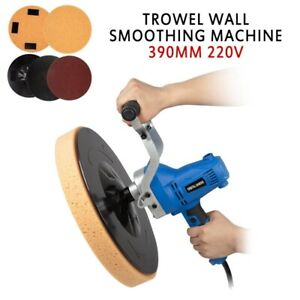 Electric Concrete Epoxy Cement Mortar Trowel Wall Smoothing Machine 390mm 220v