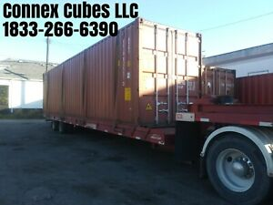 Used 40 High Cube Shipping Container Detroit Michigan