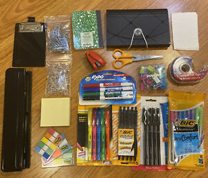 Large Office School Desk Supplies And Accessories Essential Bundle Kit