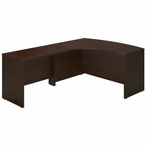 Bush Business Furniture 60w X 43d Left Handed Bow Front Desk With 42w Return