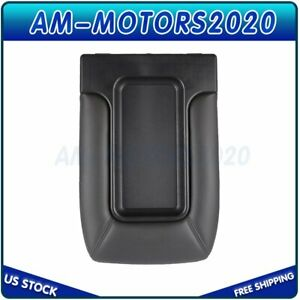 Center Console Lid Armrest For 99 07 Avalanche Silverado Sierra Dark Gray New