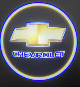 Chevrolet Wireless Led Courtesy Car Logo Door Ghost Shadow Projector Light