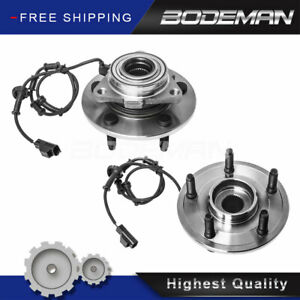 2 Front Wheel Hub Bearing Assembly W Abs For 2002 2003 2004 2005 Dodge Ram 1500