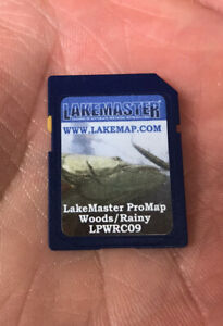 LAKEMASTER LOW Lake Of Woods LOWRANCE SD CARD Map Chip Rainy Depth Contours