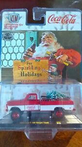 M2 Coca-Cola Christmas Chase FORD F-100 RANGER 1/750 Sparkling Holiday TH VHTF