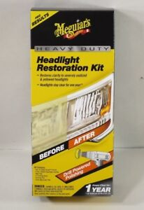 Meguiar s G2980 Heavy Duty Headlight Restoration Kit Case Of Six Kits