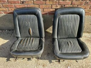 1968 Ford Mustang Gt Oem Seats