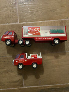 buddy l coca cola truck lot