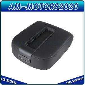 For Chevrolet Avalanche Silverado Tahoe Gmc Center Console Armrest Lid Black Hot