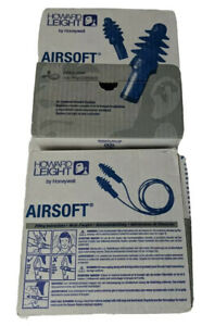 Howard Leight By Honeywell Airsoft Reusable Earplugs With Cord 200 Pairs